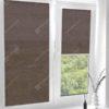 Рулонные кассетные шторы УНИ - Ямайка коричневый
