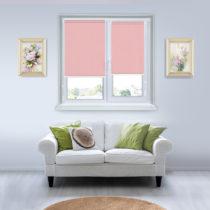 Рулонные шторы Мини - Лусто-светло-розовый