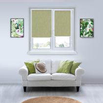 Рулонные шторы Мини - Лусто-светло-зеленый