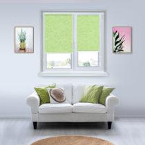 Рулонные шторы Мини - Шелк-светло-зеленый