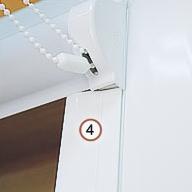 Монтаж рулонных кассетных штор Уни-1 без сверления