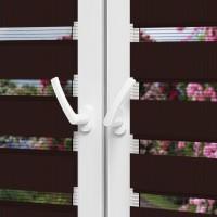 Рулонные шторы День-Ночь - Латина 1307