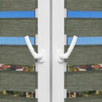 Рулонные шторы День-Ночь - Палермо 14 на пластиковые окна