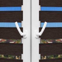 Рулонные шторы День-Ночь - Палермо 16 на пластиковые окна