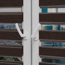 Рулонные шторы День-Ночь - Римини 89 на пластиковые окна