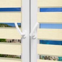 Рулонные шторы День-Ночь - Сицилия 24 на пластиковые окна