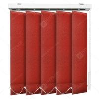 Вертикальные тканевые жалюзи Сиде красный 3621