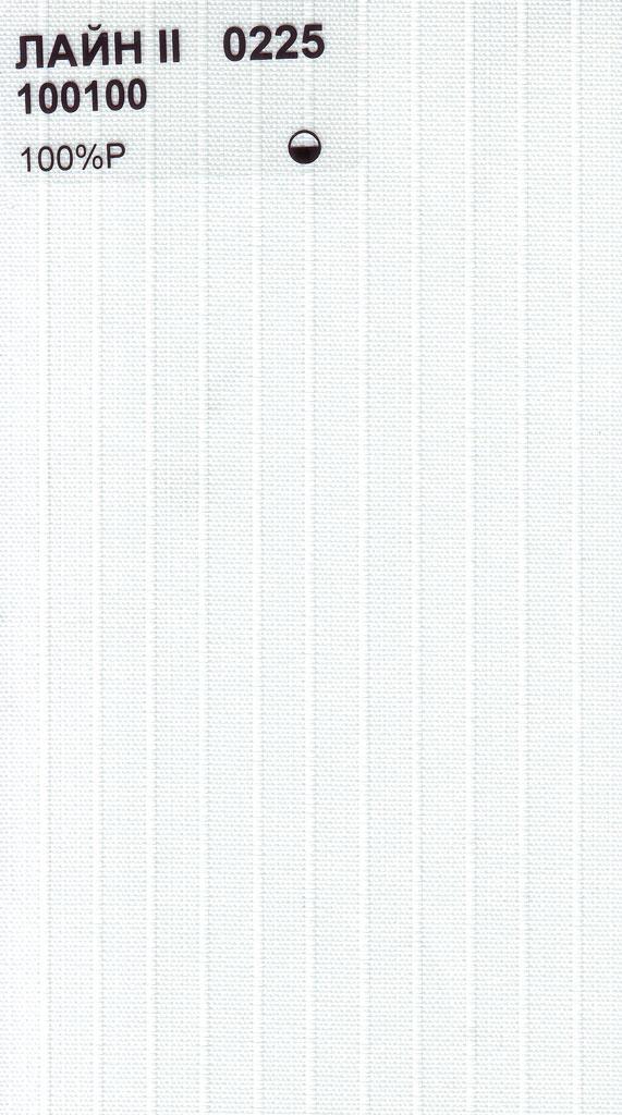 Вертикальные тканевые жалюзи Лайн-II белый
