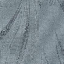 Вертикальные тканевые жалюзи Джангл голубой металлик