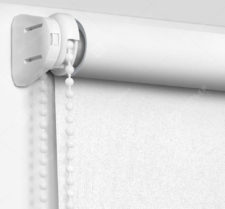 Рулонные шторы Мини - Респект блэкаут белый