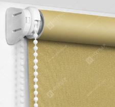 Рулонные шторы Мини - Респект блэкаут песочный