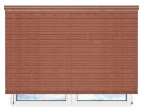 Деревянные жалюзи 50 мм, цвет 13