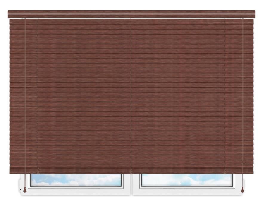 Деревянные жалюзи 50 мм, цвет 15