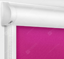 Рулонные кассетные шторы УНИ - Карина фуксия