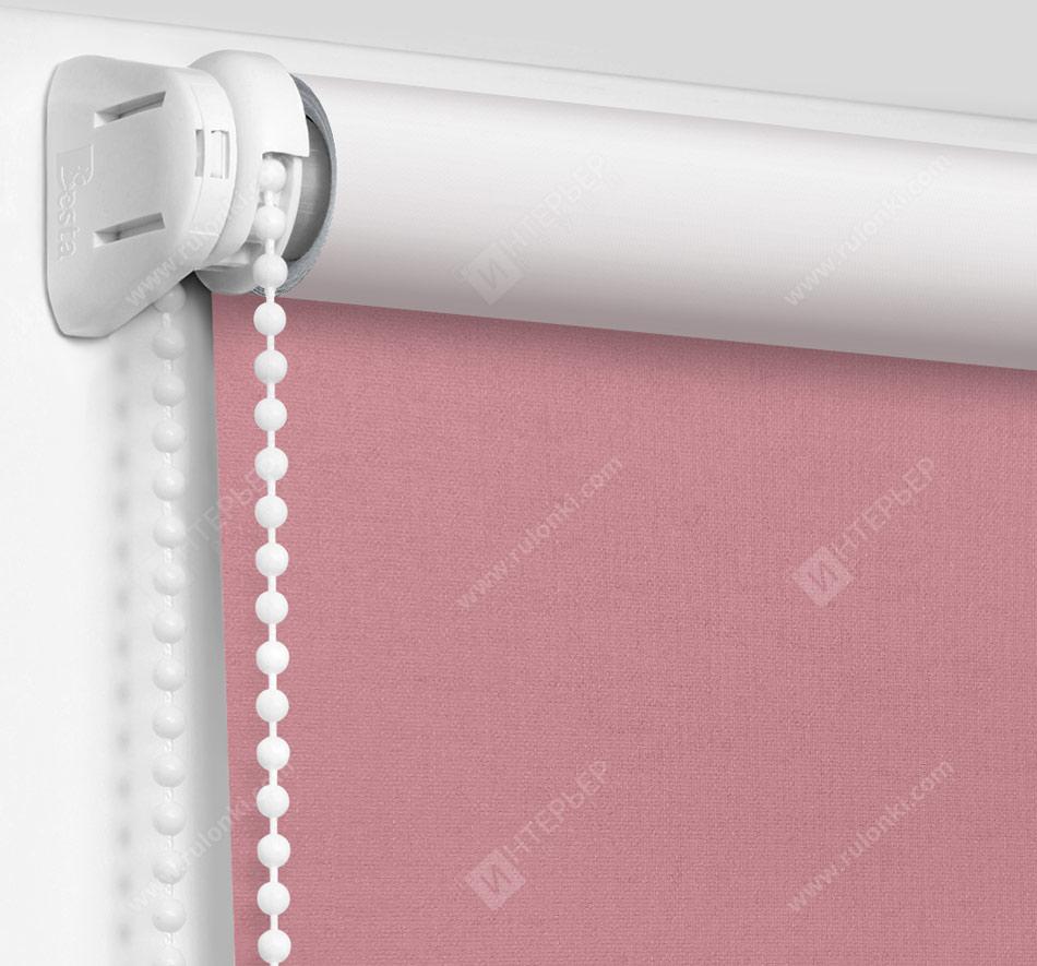 Рулонные шторы Мини - Карина Блэкаут розовый