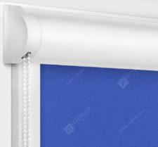 Рулонные кассетные шторы УНИ - Карина блэкаут синий