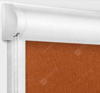 Рулонные кассетные шторы УНИ - Карина блэкаут терракот