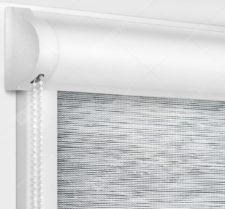 Рулонные кассетные шторы УНИ - Аруба серый