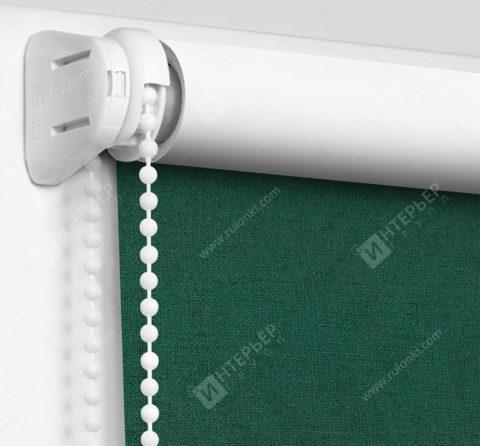 Рулонные шторы Мини - Карина Блэкаут темно-зеленый