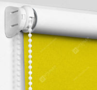 Рулонные шторы Мини - Карина Блэкаут желтый