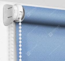 Рулонные шторы Мини - Куба голубой