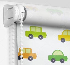 Рулонные шторы Мини - Машинки