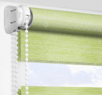 Рулонные шторы День-Ночь - Альто зеленый 2747