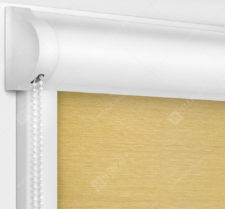 Рулонные кассетные шторы УНИ - Лусто песочный
