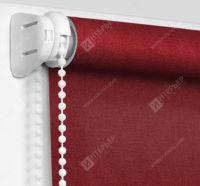 Рулонные шторы Мини - Карина бордовый