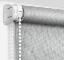 Рулонные шторы Мини - Сильвер скрин серый