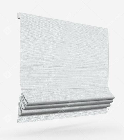 Римские шторы Флэкси белый
