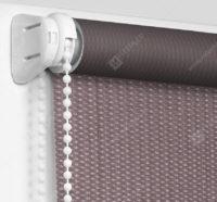Рулонные шторы Мини - Севилья шоколадный блэкаут