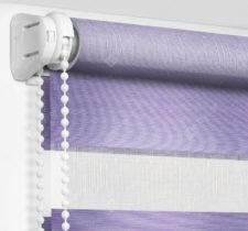 Рулонные шторы День-Ночь - Верона фиолетовый 56